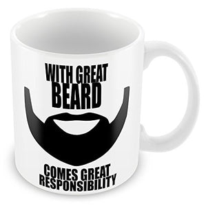 Great Beard Coffee Mug - Egg n Chips London