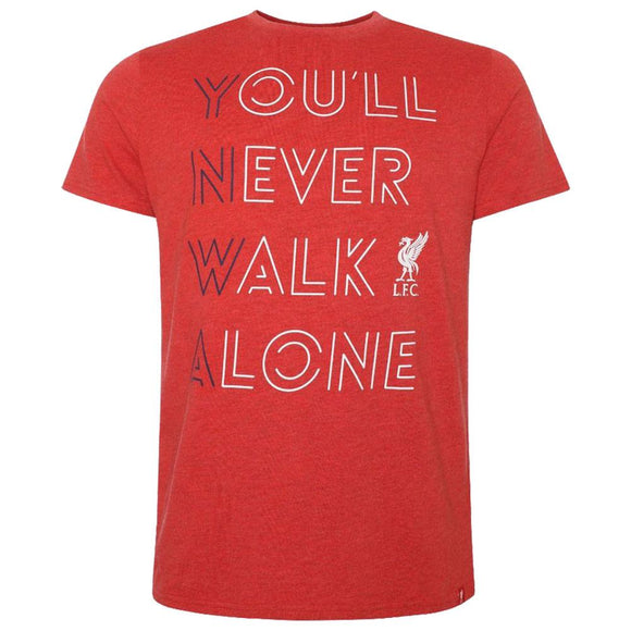 Liverpool FC YNWA T Shirt Mens Red S