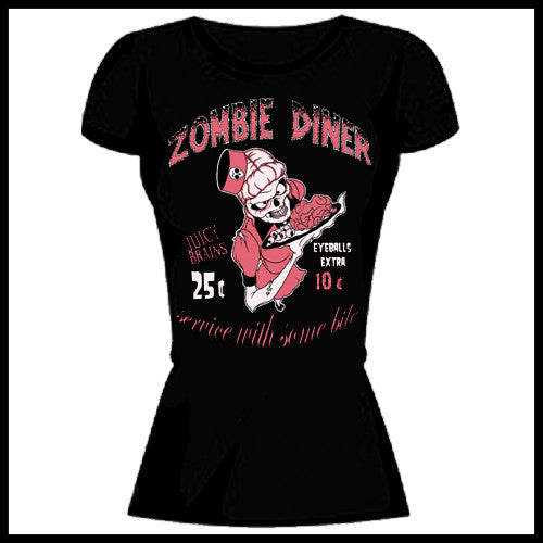 Zombie You Monsters - Zombie Diner T-Shirt