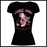 Zombie You Monsters - Zombie Diner T-Shirt - Egg n Chips London