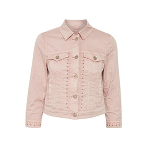 Tilde Jacket - Pink / 36 - JACKA CREAM, DAM, DENIM, JACKA,