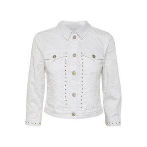 Tilde Jacket - White / 36 - JACKA CREAM, DAM, DENIM, JACKA,