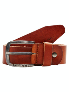 Paul Leather Belt - Mocha Bisque / 80 - SKÄRP ACCESSOARER,
