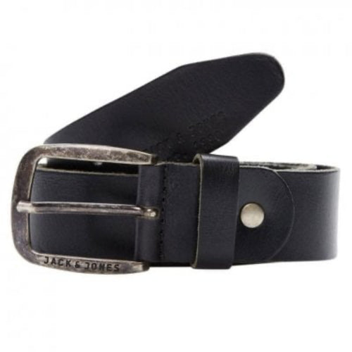 Paul Leather Belt - Black / 80 - SKÄRP ACCESSOARER, BRUN,