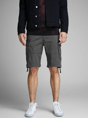 Chop Cargo Shorts - Dark Grey / S - SHORTS BEIGE, CARGO,