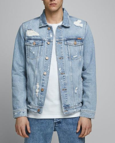 Jean Jacket 183 - Blue Denim / S - JACKA BLÅ, DENIM, HERR,