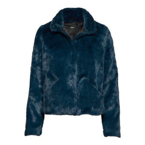Vida Faux Fur Coat - Gibraltar Sea / XS - entre2016
