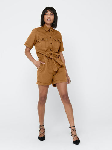 Katy Life Belted Playsuit - JUMPSUIT 34, 36, 38, 40, 42