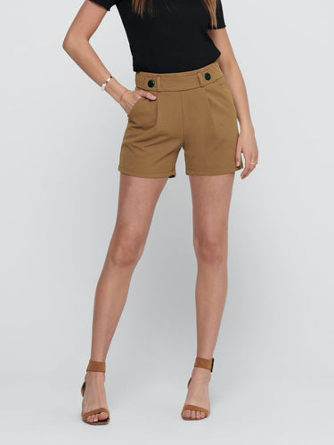 Geggo Shorts - Argan Oil / XS - SHORTS BEIGE, BRUN, DAM,