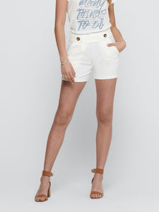 Geggo Shorts - Cloud Dancer / XS - SHORTS BEIGE, BRUN, DAM,