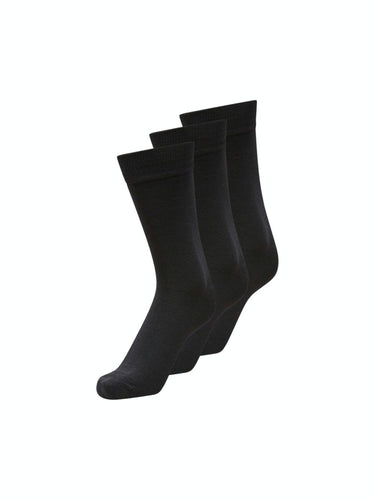 3-Pack Socks - Black / One Size - STRUMPOR ACCESSOARER,