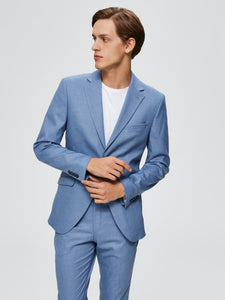 Slim MyloLogan Blazer - Light Blue / 48 - KOSTYM 48, 50, 52,
