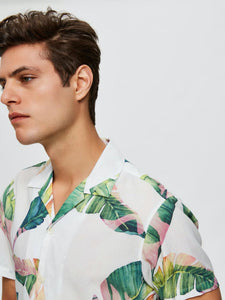Avalon Shirt - SKJORTOR - SHORT SLEEVE BLOMMIG, HERR, L, M,