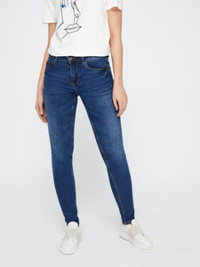 Five Betty Medium Blue - Blue Denim / XXS - JEANS DAM,