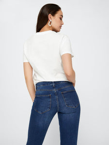 Five Betty Medium Blue - JEANS DAM, DENIM, JEANS, L, M