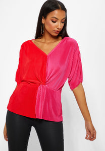 Nini Top - High Risk Red / XS - TOPPAR DAM, PIECES, REA,