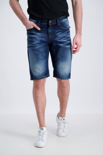 Denim Shorts - Blue Denim / S - SHORTS 2-55011JUI, 3XL, 4XL,