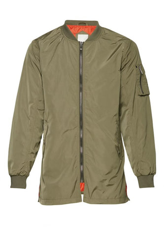 Outer-Wear - Green / S - JACKOR BOMBER, CASUAL FRIDAY, GRÖN,