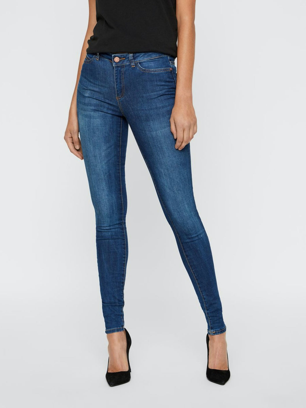 Lucy Power Shape Jeans - 30 / 24 - JEANS BLÅ, DAM, DENIM,