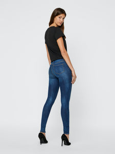 Lucy Power Shape Jeans - JEANS BLÅ, DAM, DENIM, JEANS,
