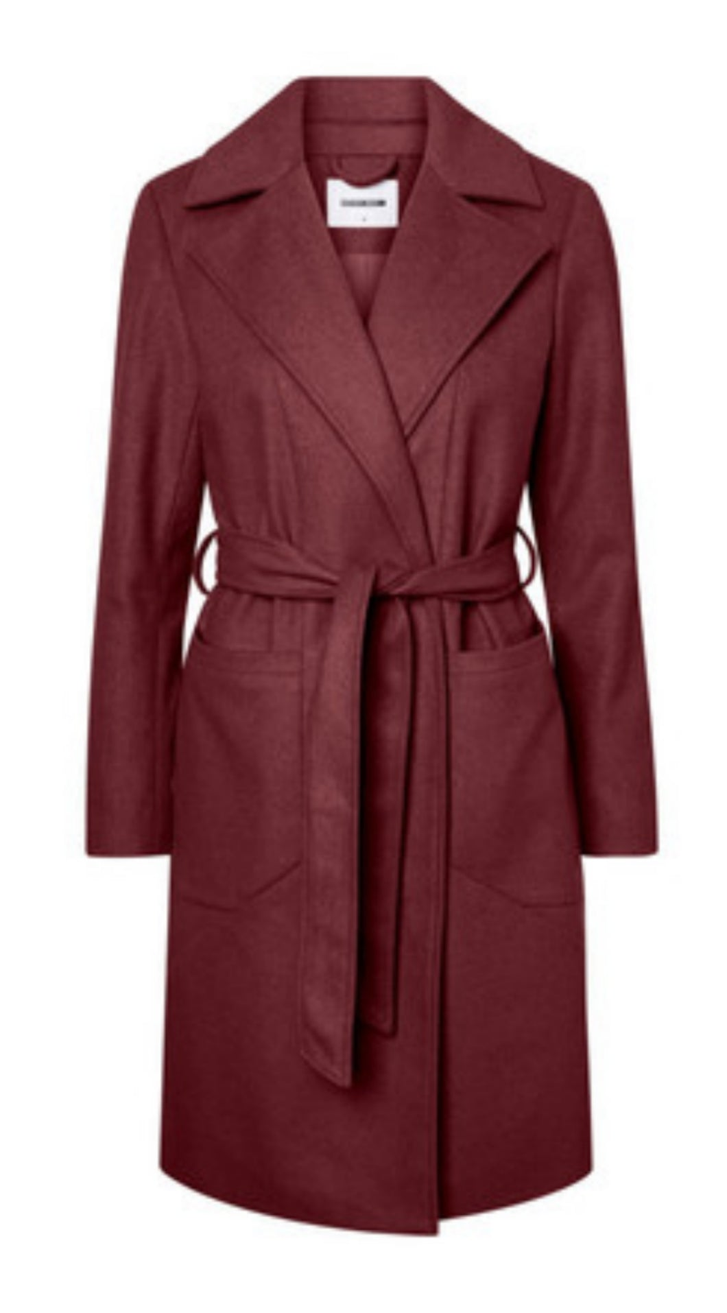 Dido Long Coat - Wine / XS - KAPPOR DAM, KAPPOR, L, M, NOISY