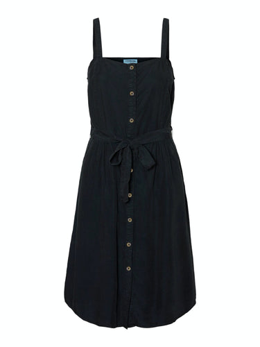 Sansa Endi Button Dress - Black / XS - KLÄNNINGAR DAM,