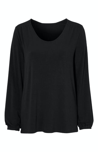 Smock Top - Black / 34/36 - TOPPAR 34/36, 38/40, 42/44,