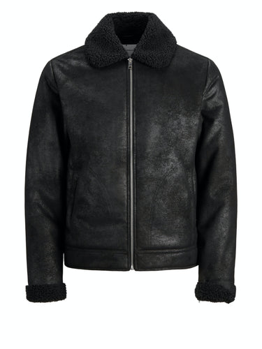 Flight Jacket - Black / S - JACKA HERR, JACK & JONES, JACKA,