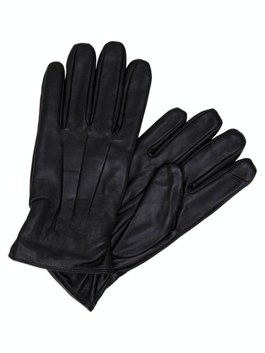 Montana Leather Gloves - Svart / S/M - HANDSKAR 12125090,