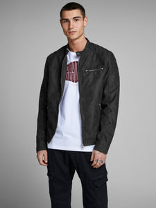 Rocky Jacket - Black / S - JACKA HERR, JACK & JONES, JACKA,