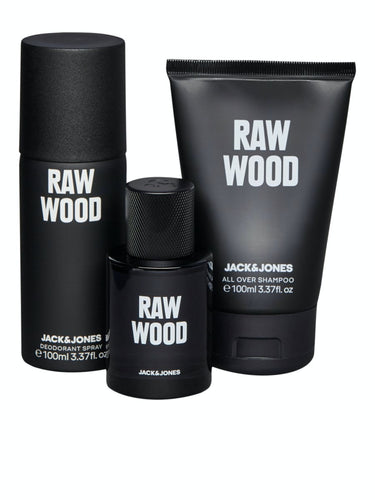 Raw Wood Gift set - Black / One Size - PARFYM 12167023,