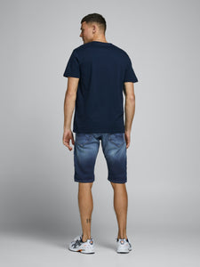 Rex Long Shorts 021 - SHORTS DENIM, HERR, JACK & JONES,