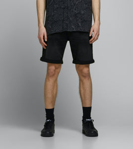 Rick Shorts 010 - Black Denim / S - SHORTS DENIM, HERR, JACK