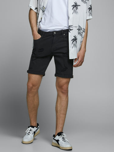 Rick Shorts Breaks - Black / S - SHORTS HERR, JACK & JONES,