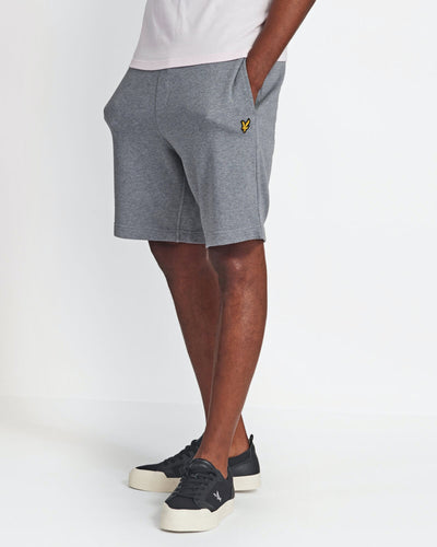 Sweat Shorts - Light Grey Marl / XS - SHORTS GRÅ, HERR, L,