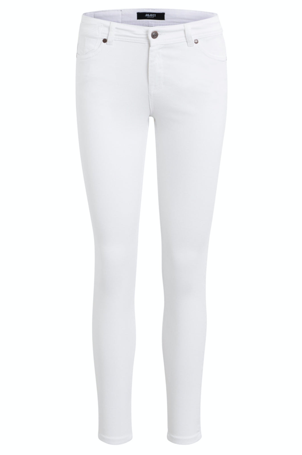 Sarah 7/8 Pants - White / 25 - JEANS DAM, DENIM, JEANS,