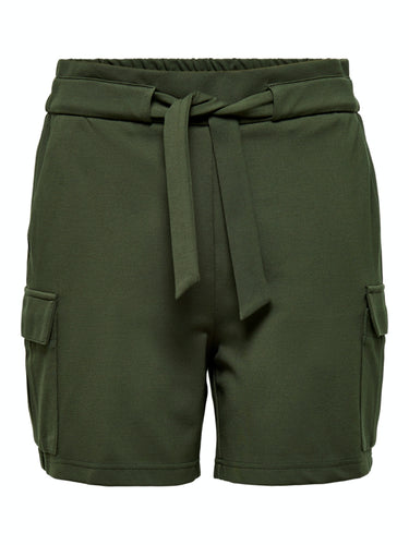 Poptrash Cargo Belt Shorts - Forest Night / XS - SHORTS DAM,