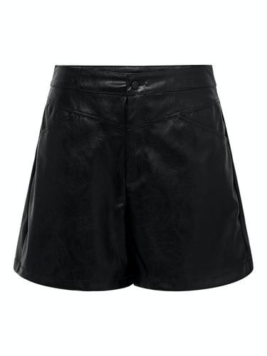 Kara Faux Leather Shorts - Black / 34 - ONLY 34, 36, 38, 40,