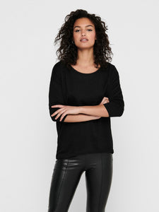Elcos 4/5 Solid Top - Black / XS - TOPPAR 15124402, DAM, L,