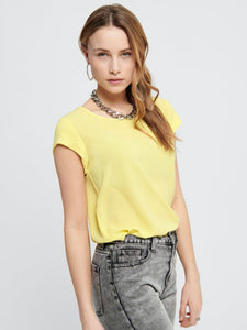 Vic Solid Top - Pineapple Slice / 34 - TOPPAR BLUS, BLUSAR,
