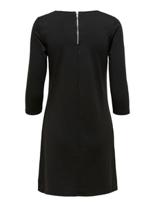 Brilliant 3/4 Dress - KLÄNNINGAR 15160895, BLACK, DAM,