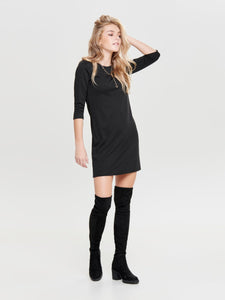 Brilliant 3/4 Dress - Black / XS - KLÄNNINGAR 15160895,