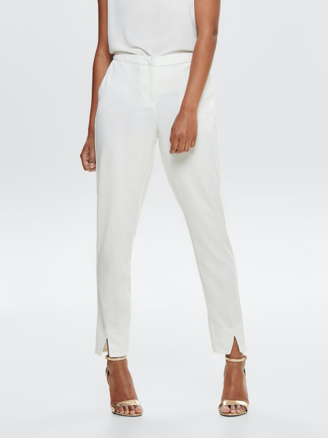 Carolina Cigarette Pants - White / 34 - L8ER