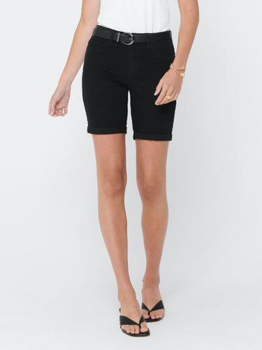 Sun Anne Shorts - Black / XS - SHORTS DAM, DENIM,