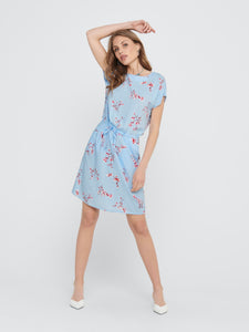 Nova Life Connie Dress - Cashmere Blue / 34 - KLÄNNINGAR 34,