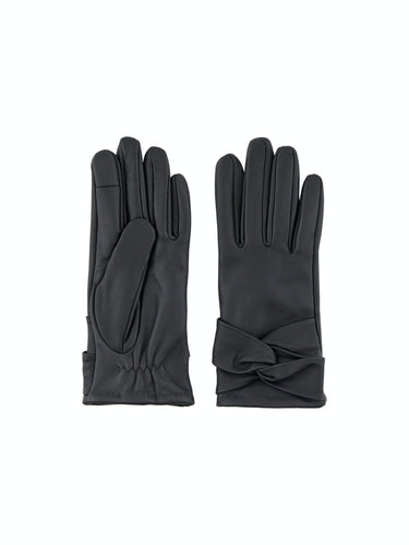 Sille Leather Glove - Black / S - HANDSKAR 17107213,