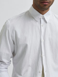 Slim New Linen Shirt - SKJORTOR - LONG SLEEVE 16078867,