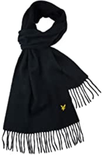 Lambwool Scarf - True Black / One Size - HALSDUK