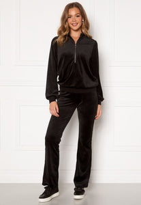 Kaylee Velour Zip Top - TOPPAR 32, 34, 36, 38, 40 HAPPY