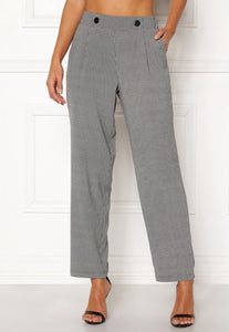 Vendela Wide Pants - Dog Tooth / 32/34 - BYXOR 609577, BYXA,